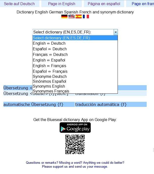 Blueseal Dictionary аналоги и альтернативы - Blueseal